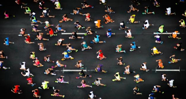 group running marathon