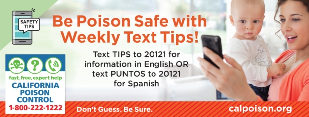 be poison safe with text tips